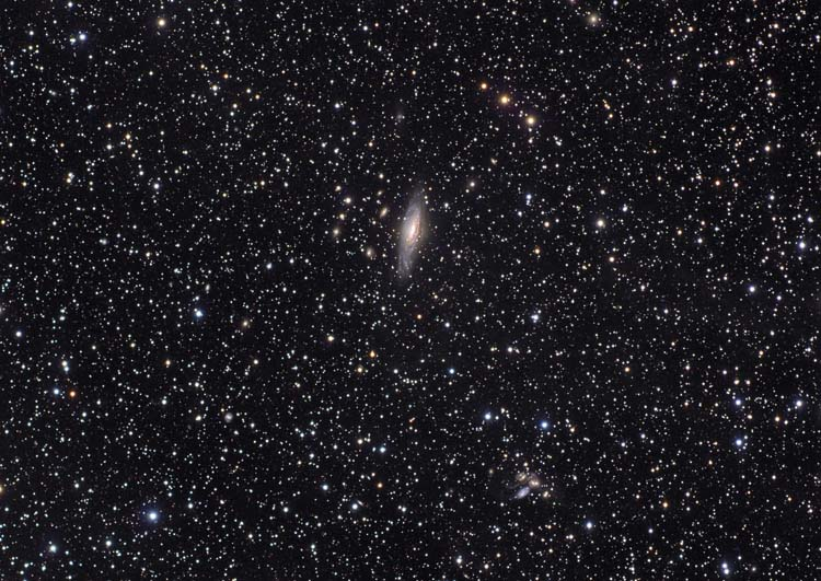 NGC 7331 and Stephen's Quintet