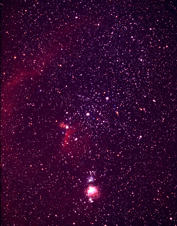 Orion in 135 mm
